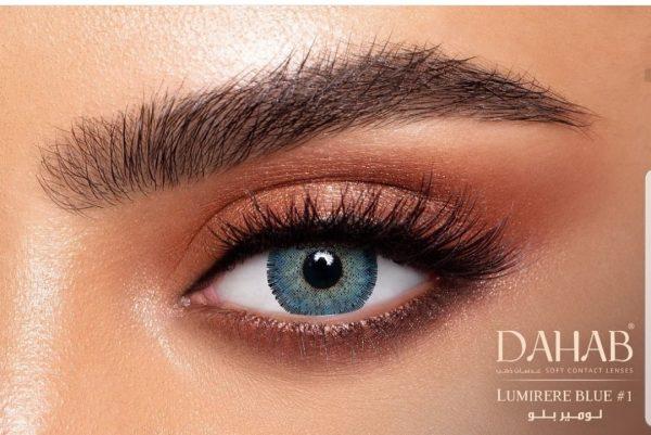 لنز رنگی - دهب - لومیر بلو