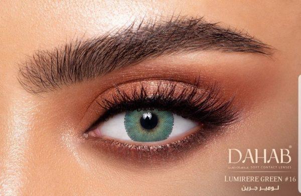 لنز رنگی - دهب - لومیر گرین