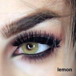 لنز رنگی لیمویی امیر لنز