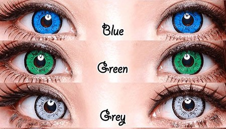 کدام رنگ لنز برای شما مناسب تر است ؟