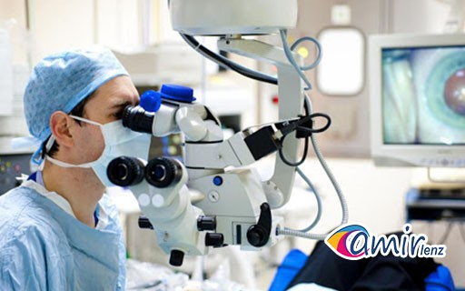 جراحی کاشت لنز داخل چشمی یا ICL