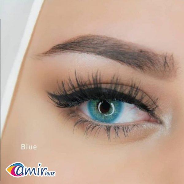 لنز رنگی لومینوس بلو